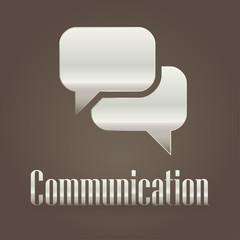 Metallic symbol communication
