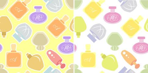 Pefume seamless pattern