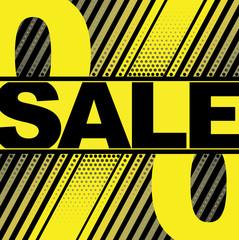 Vector Illustration of Sale Word