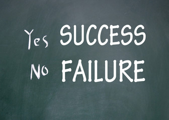 success and failure choice