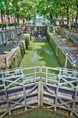 Ecluse des Morts, canal Saint-Martin, Paris