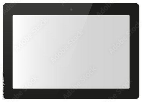 Tablet vector illustration