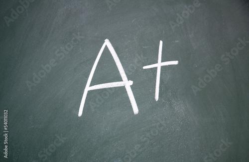 A + sign