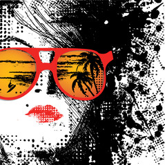 Women in sunglasses © yarina