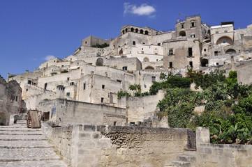 Italy. Italia. Matera la città dei sassi della Basilicata