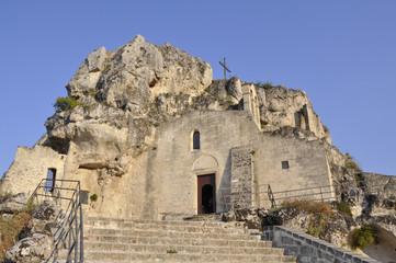 Italy. Italia. Matera. Chiesa rupestre