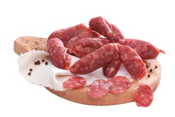 Salsiccia stagionata - Seasoned sausage