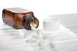 Medikament auf Beipackzettel