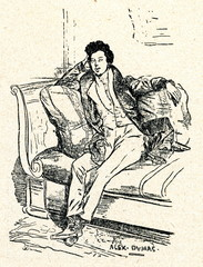 Alexandre Dumas,  père, French writer