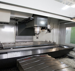 CNC (Computer Numeric Controlled) Milling machine
