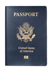 USA Passport isolated