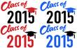 Class of 2015 school graduation date cap