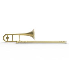 Trombone Side View