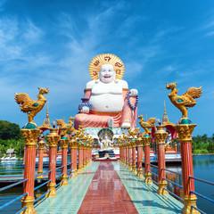 Buddha sculpture in koh Samui, Thailand