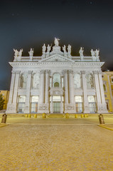 Archbasilica of St. John Lateran in Rome, Italy