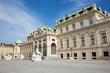 Vienna - Belvedere palace in morning light