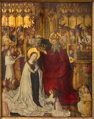 Vienna - Coronation of holy Mary  in church Maria Am Gestade