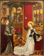 Vienna - Annunciation scene in church Maria Am Gestade