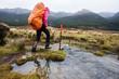 Trekking in bad weather