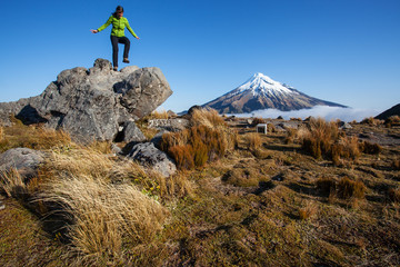 New Zealand hiking