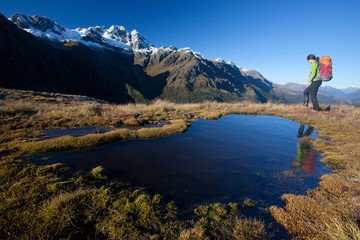 Trekking in New Zealand