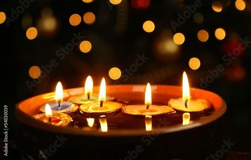 Candles in nuthells