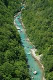Tara river canyon,  Montenegro poster