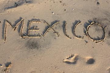 Mexico Sand Bild