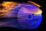 Fototapety flaming cd