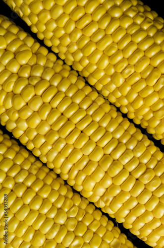 diagonel placed corns background