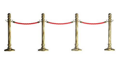 Absperrung Seil VIP 4