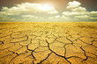 Leinwanddruck Bild - Drought