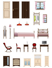 Woman room / furniture