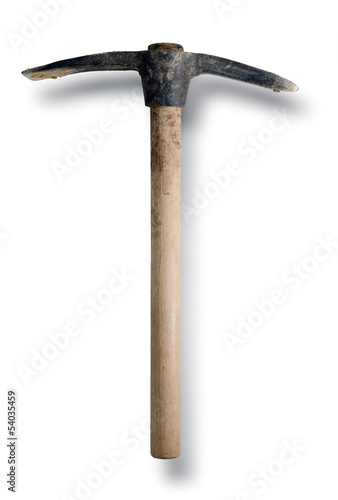 Pick Axe. White