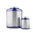 Two Jars for sport supplements