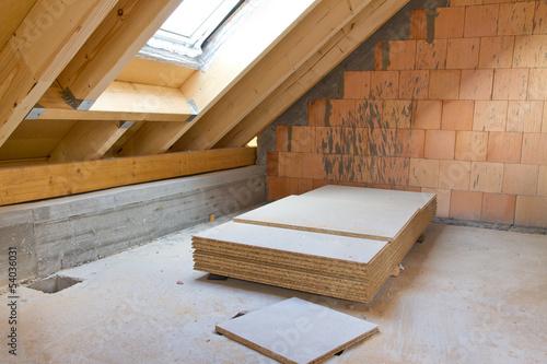 Neubau, Dachgeschoß