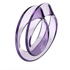 glass mobius strip