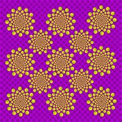 optical illusion buttonize circles