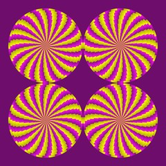 optical illusion gears