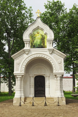 Vault of Prince Dmitry Pozharsky  in Suzdal