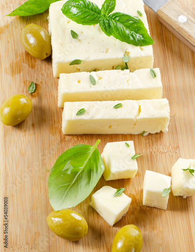 Feta cheese.