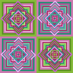 Geometric ethnic seamless pattern