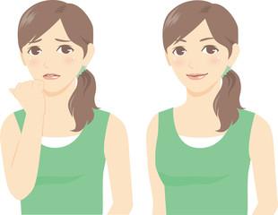 女性の表情3