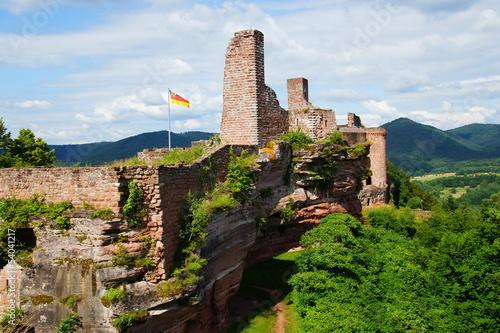 Burganlage Altdahn