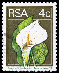 Post stamp from South Africa Republic