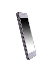 Mobile phone with clipping path