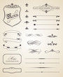 Calligraphic and Page Decoration Elements