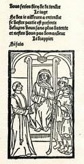 La Farce de maître Pierre Pathelin (1489, trial scene)