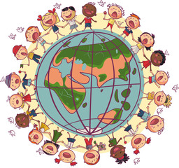 Kids around world