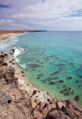 Northern Fuerteventura, Playa del Castillo beach